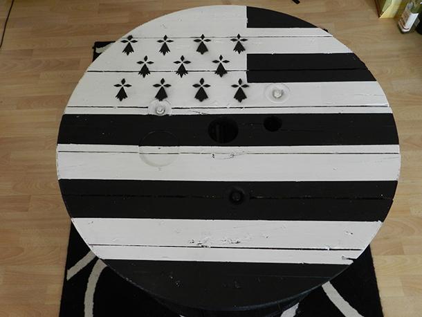 Table Drapeau breton