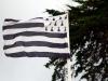 Drapeau breton dans le vent